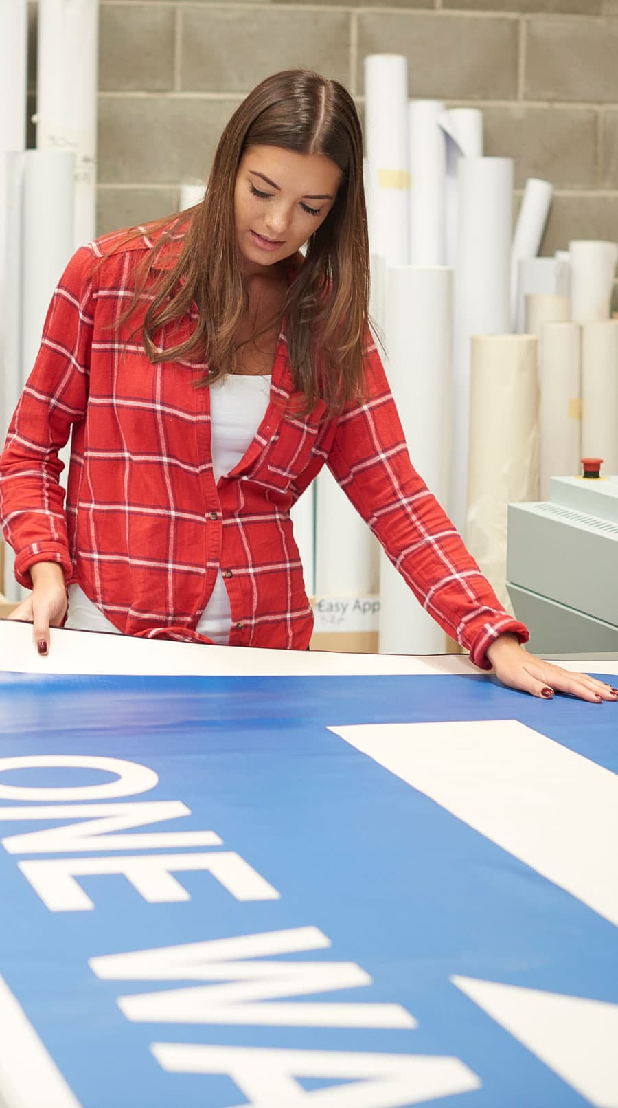 printing banner 1 - High-Quality Large Format Printing Services - Action Mailing