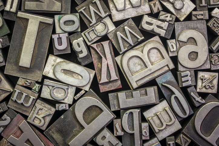 fonts-printing-press-letters